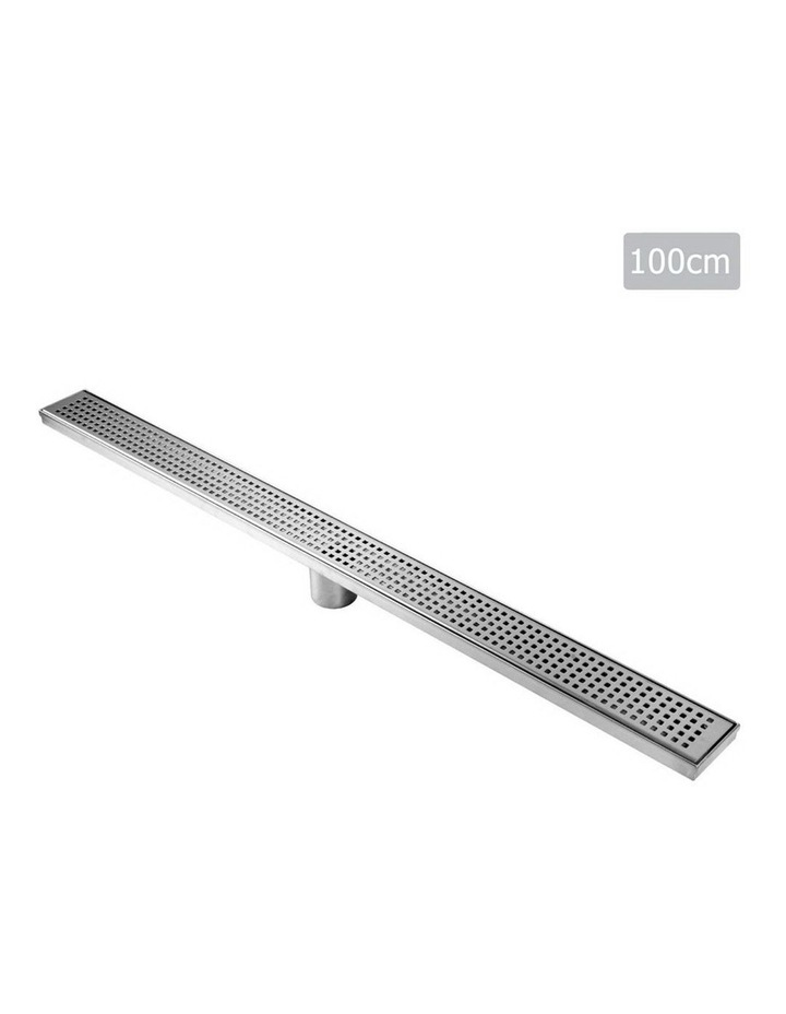 1000mm Square Stainless Steel Shower Grate image 1