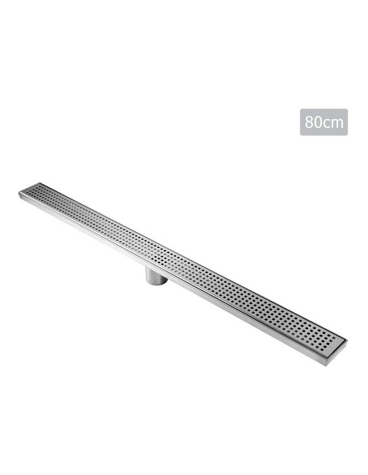 115x115mm Stainless Steel Shower Grate Tile  Drain Square Bathroom Home image 1