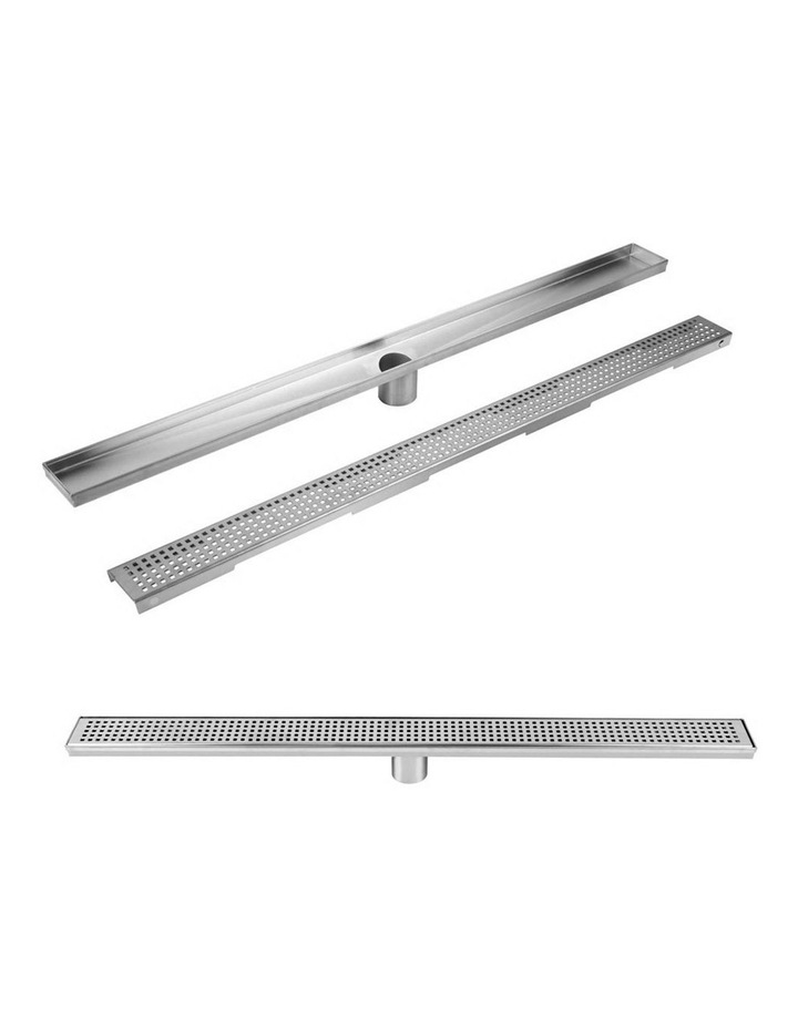 115x115mm Stainless Steel Shower Grate Tile  Drain Square Bathroom Home image 3
