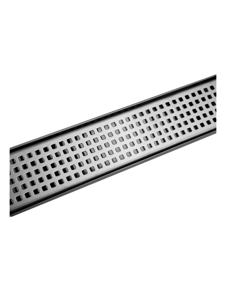 115x115mm Stainless Steel Shower Grate Tile  Drain Square Bathroom Home image 5