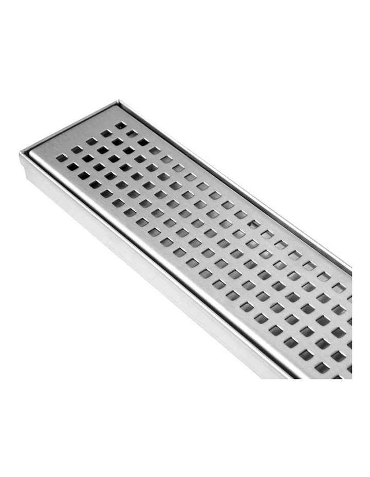 115x115mm Stainless Steel Shower Grate Tile  Drain Square Bathroom Home image 6