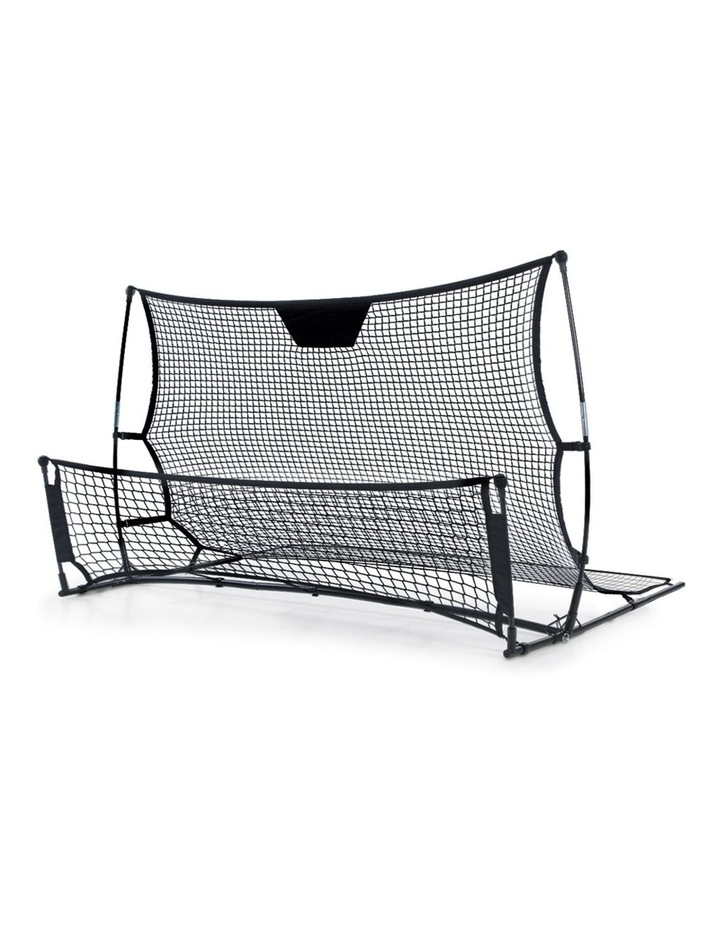 Portable Soccer Rebounder Net Volley Training Football Goal Trainer XL image 1