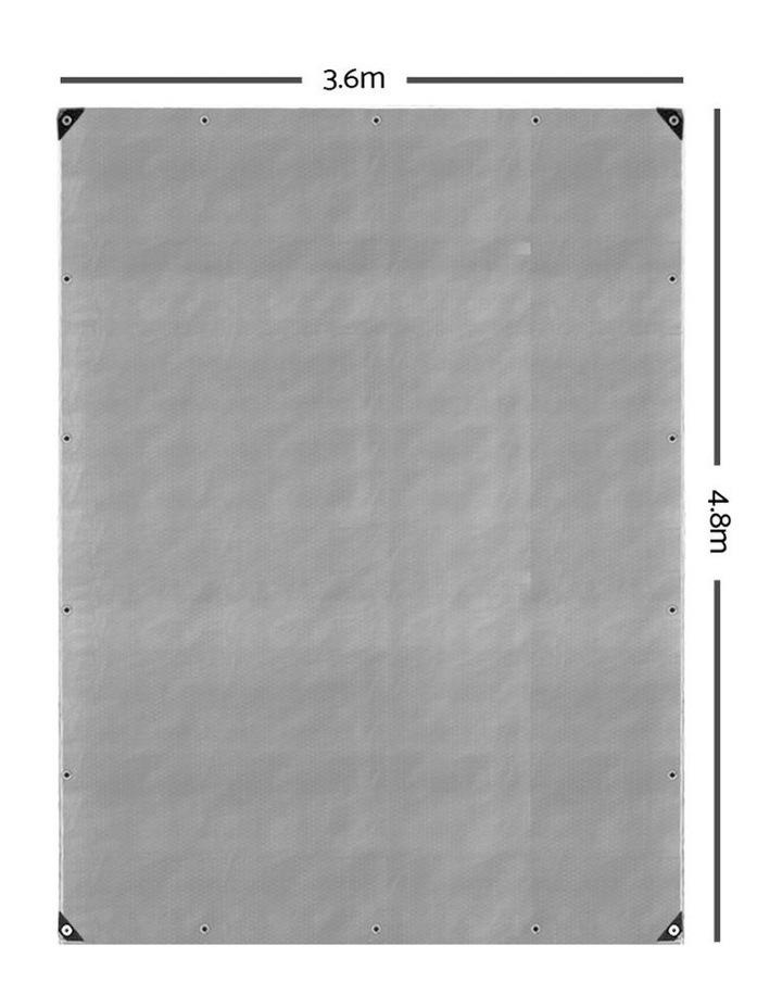 3.6 x 4.8m Heavy Duty Poly Tarp image 2