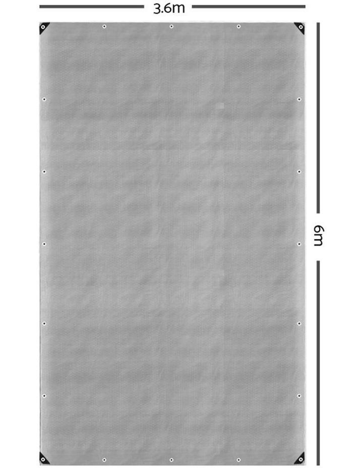 3.6 x 6m Heavy Duty Poly Tarp image 2
