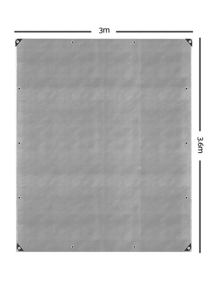 3 x 3.6m Heavy Duty Poly Tarp image 2
