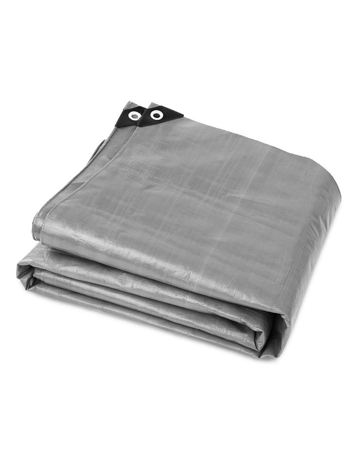 3 x 4.5m Heavy Duty Poly Tarp image 5