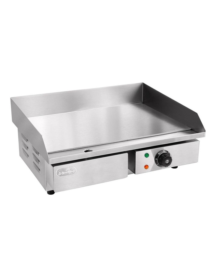 3000W Electric Griddle Hot Plate - Stainless Steel image 1