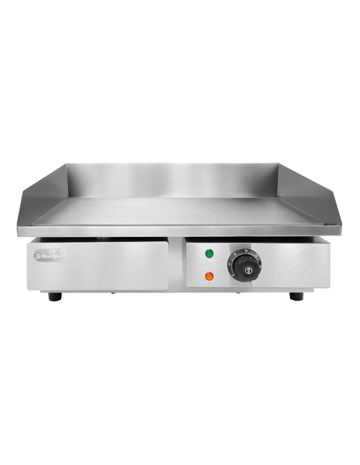 3000W Electric Griddle Hot Plate - Stainless Steel image 5