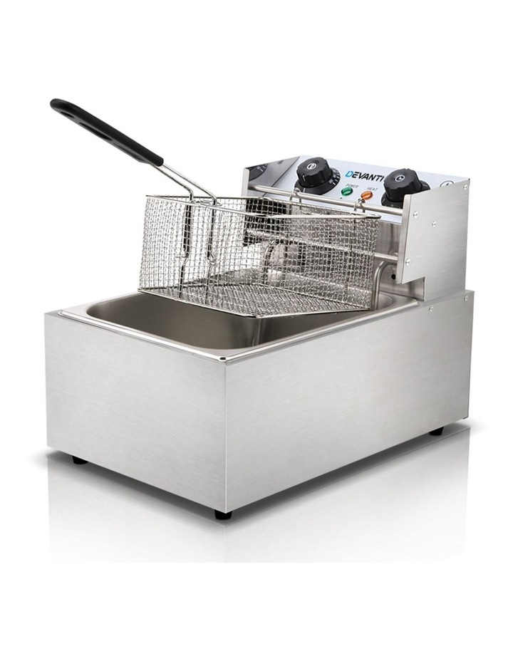 Commercial Electric Single Deep Fryer - Silver image 1