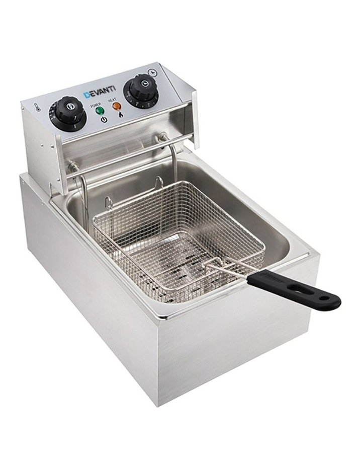 Commercial Electric Single Deep Fryer - Silver image 3