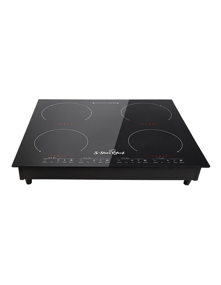 Electric Induction Cooktop Kitchen Cooker Ceramic Cook Top 4 Burner image 4