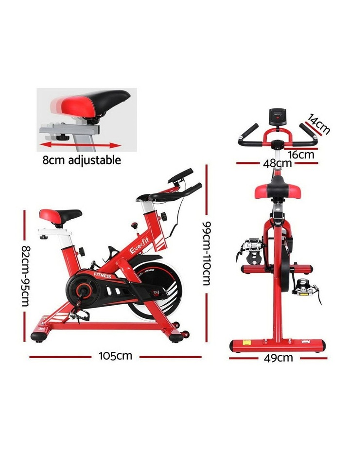 Exercise Spin Bike Cycling Fitness Commercial Home Workout Gym Equipment image 2