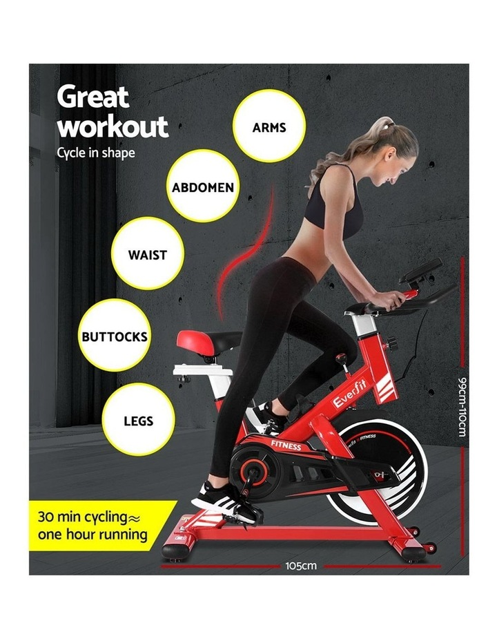 Exercise Spin Bike Cycling Fitness Commercial Home Workout Gym Equipment image 4