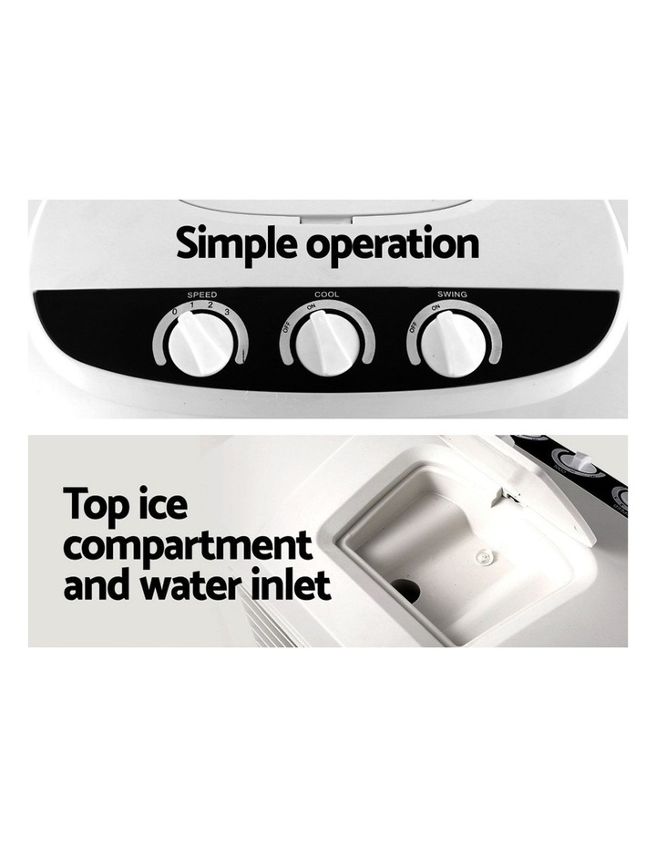 Evaporative Air Cooler Industrial Commercial Portable Water Fan Workshop image 5