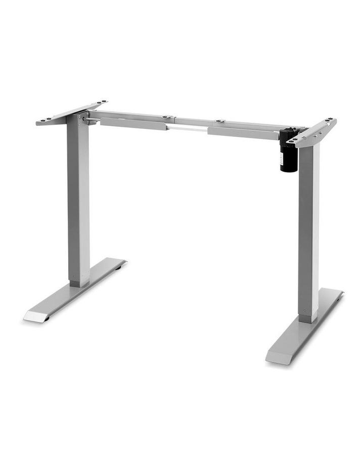Standing Desk Sit Stand Riser Height Adjustable Motorised Frame Only Grey image 1