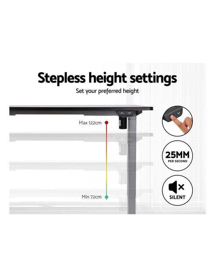 Standing Desk Sit Stand Riser Height Adjustable Motorised Frame Only Grey image 4