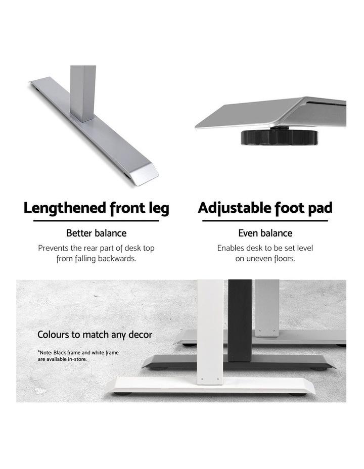 Standing Desk Sit Stand Riser Height Adjustable Motorised Frame Only Grey image 6