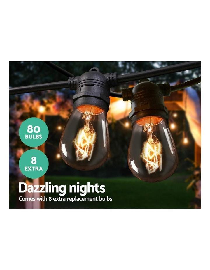 My Plaza Festoon String Lights Christmas Blubs 50 Outdoor Wedding Party Garden 74m image 3