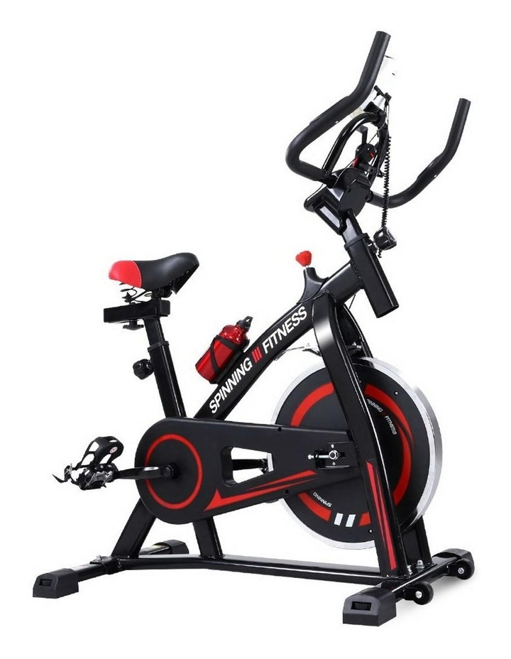 Spin Bike Exercise Flywheel Fitness Commercial Home Workout Gym Holder image 1