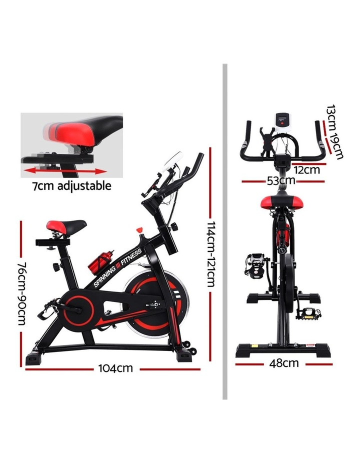 Spin Bike Exercise Flywheel Fitness Commercial Home Workout Gym Holder image 2