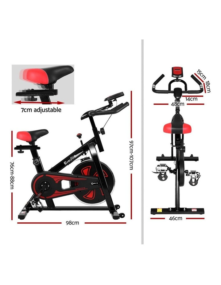 Spin Exercise Bike Cycling Fitness Commercial Home Workout Gym Equipment image 2