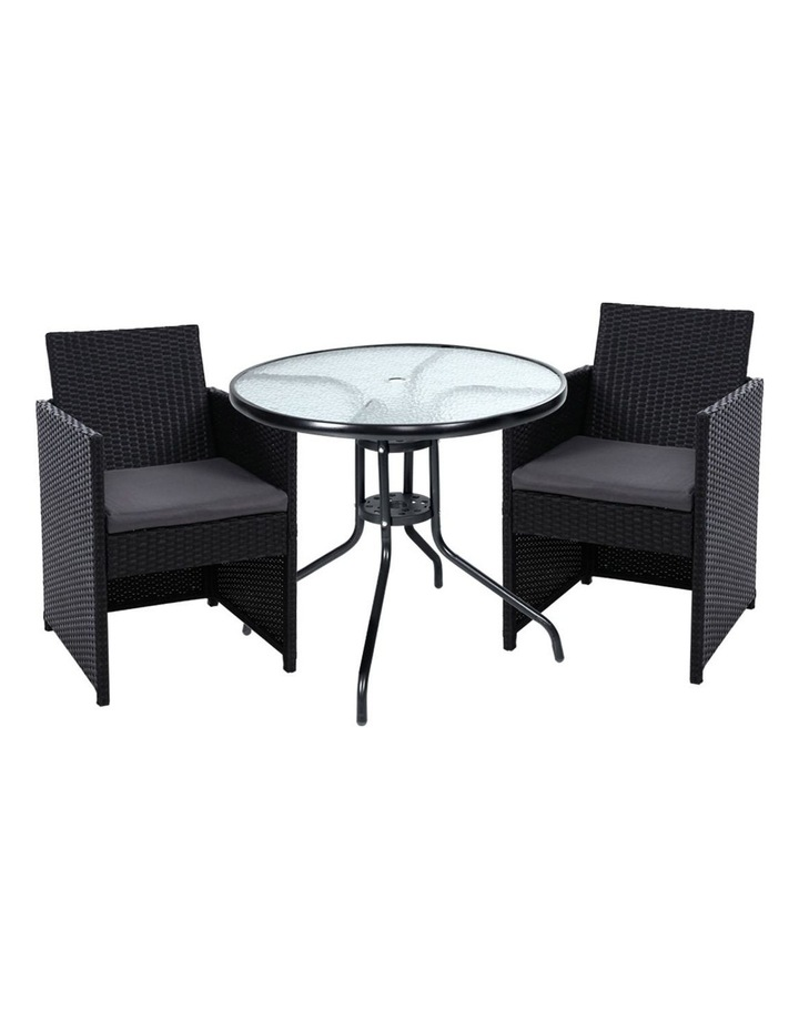 Patio Furniture Dining Chairs Table Patio Setting Bistro Set Wicker Tea Coffee Cafe Bar Set image 1