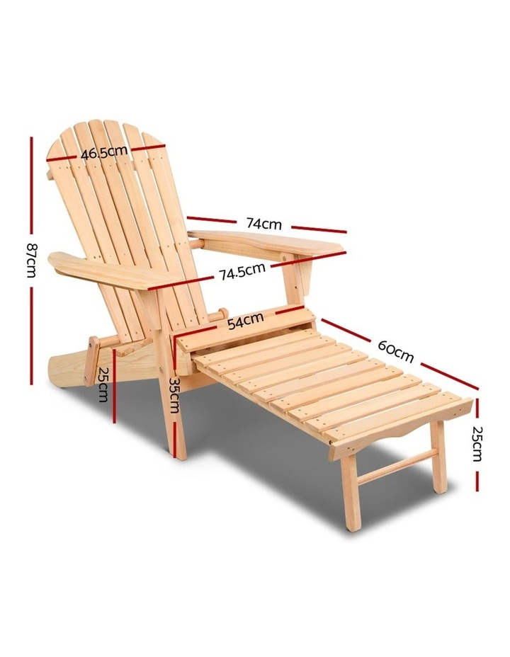 Outdoor Sun Lounge Chairs Patio Furniture Beach Chair Lounger image 2