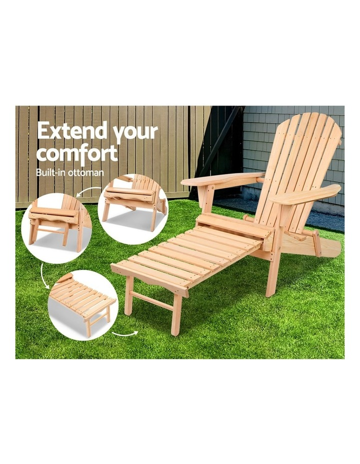 Outdoor Sun Lounge Chairs Patio Furniture Beach Chair Lounger image 3