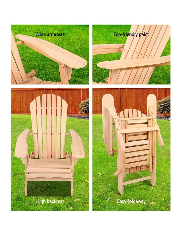 Outdoor Sun Lounge Chairs Patio Furniture Beach Chair Lounger image 4