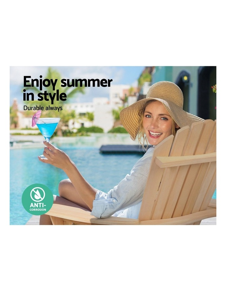 Outdoor Sun Lounge Chairs Patio Furniture Beach Chair Lounger image 5