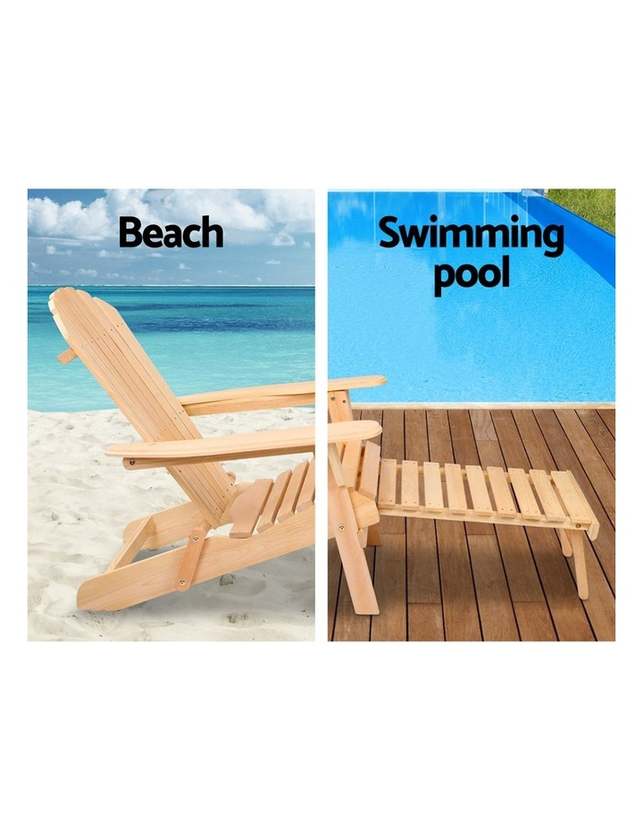 Outdoor Sun Lounge Chairs Patio Furniture Beach Chair Lounger image 6