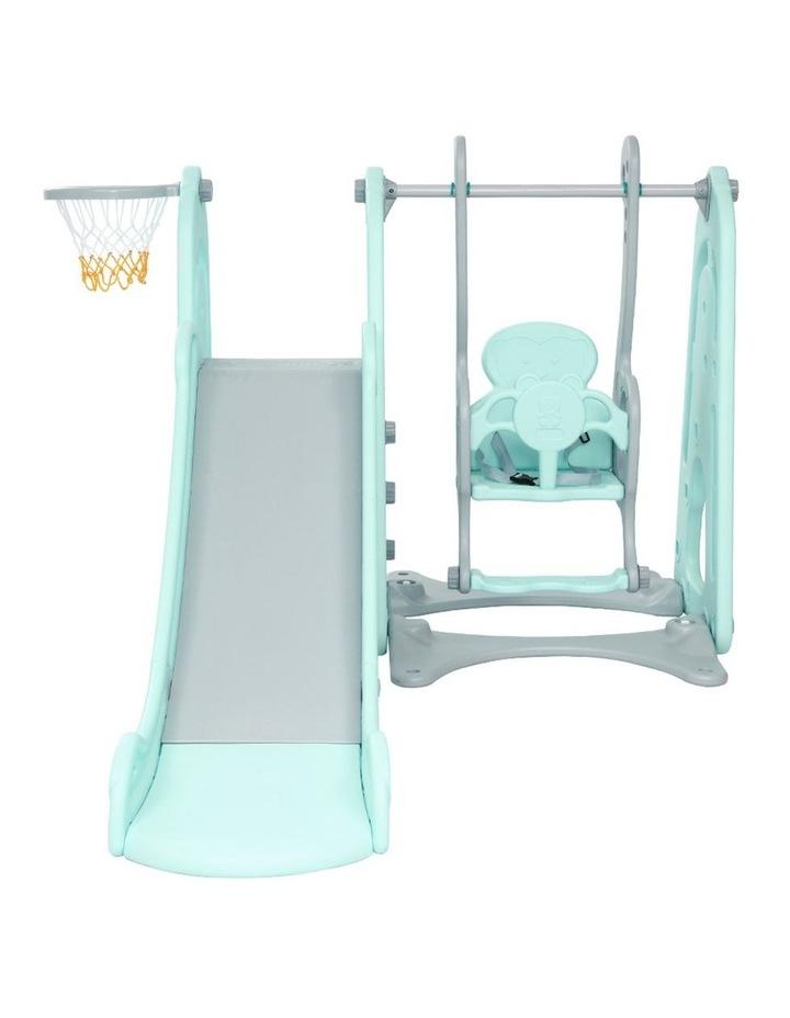 Slide Swing Outdoor Indoor Playground Basketball Hoop Toddler Play image 3