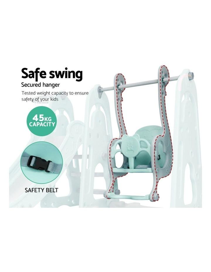 Slide Swing Outdoor Indoor Playground Basketball Hoop Toddler Play image 6