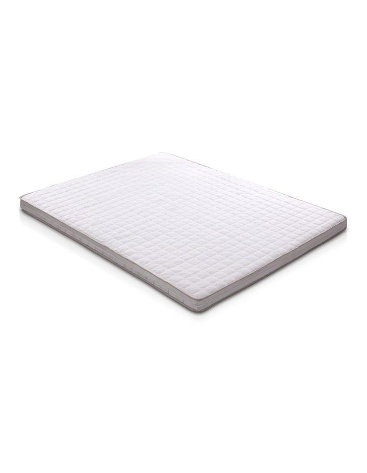 Memory Foam Mattress Topper Bed Underlay Cover King 7cm image 1