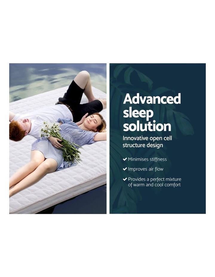 Memory Foam Mattress Topper Bed Underlay Cover King 7cm image 3