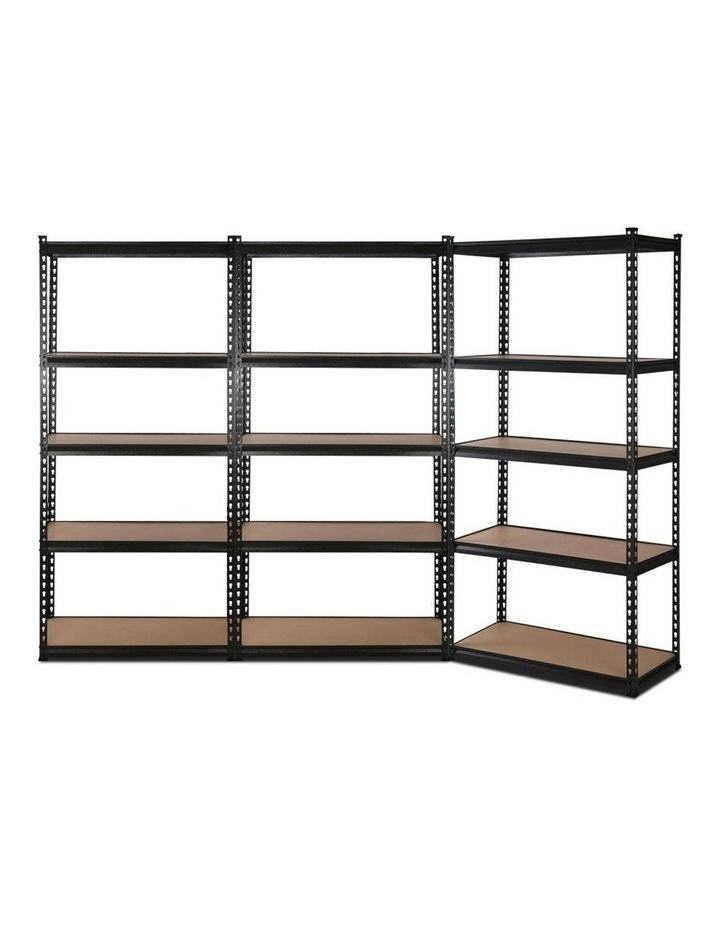 3x0.7M Warehouse Shelving Racking Storage Garage Steel Metal Shelves Rack image 1