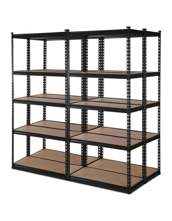 4x0.7M Warehouse Shelving Racking Storage Garage Steel Metal Shelves Rack image 1