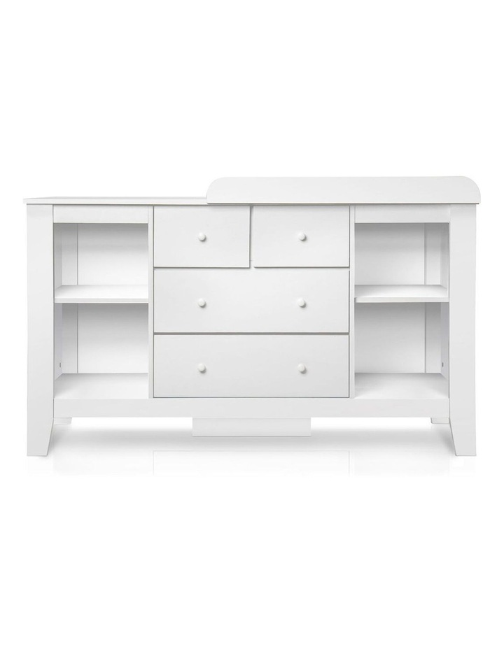 Keezi Change Table Baby Chest of Drawer Dresser Cabinet Changer Nursery Toy Box image 3