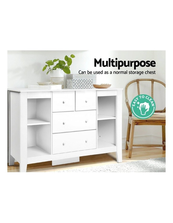 Keezi Change Table Baby Chest of Drawer Dresser Cabinet Changer Nursery Toy Box image 6