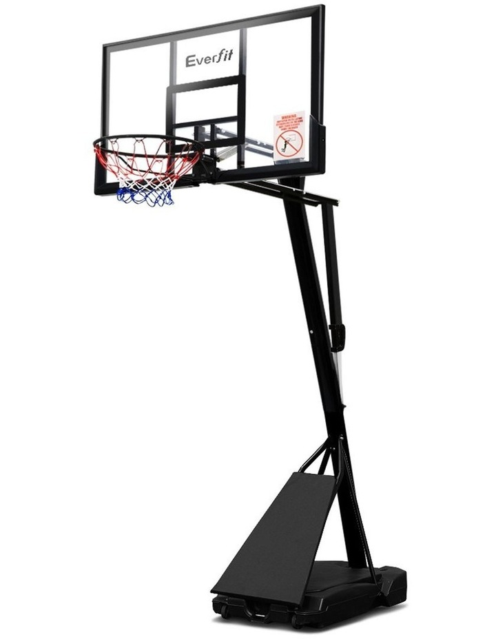 Pro Portable Basketball Stand System Ring Hoop Net Height Adjustable 3.05M image 1