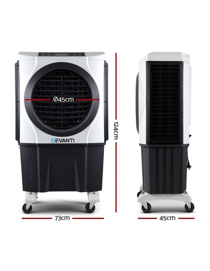 Evaporative Air Cooler Industrial Commercial Fan Conditioner Purifier w/Remote image 2