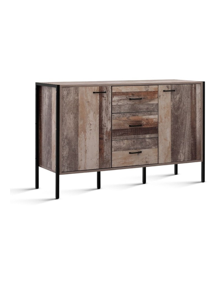 Buffet Sideboard Storage Cabinet Kitchen Hallway Table Industrial Rustic image 1