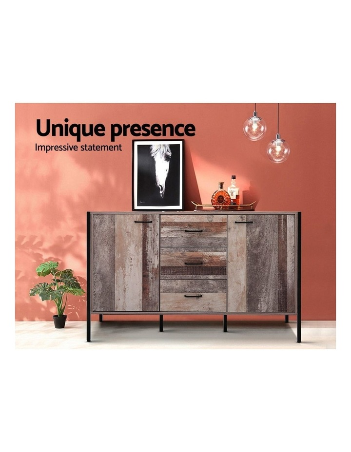 Buffet Sideboard Storage Cabinet Kitchen Hallway Table Industrial Rustic image 4