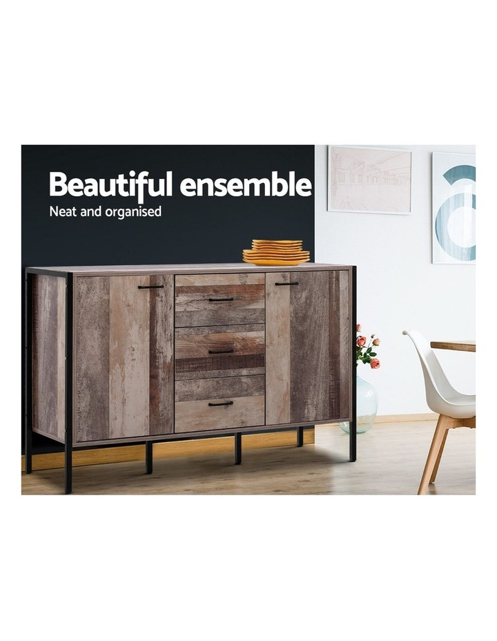 Buffet Sideboard Storage Cabinet Kitchen Hallway Table Industrial Rustic image 5