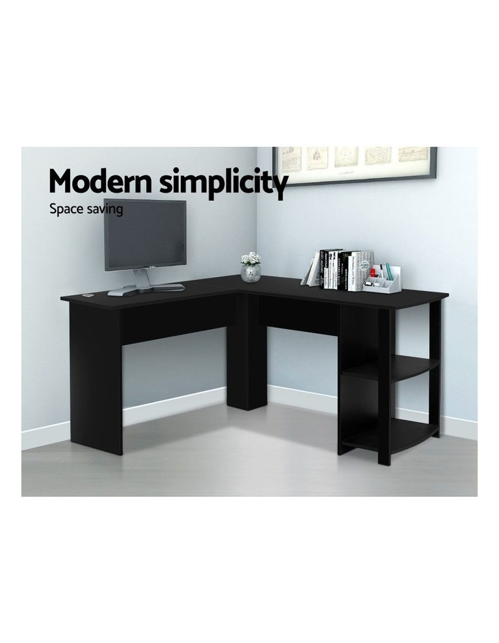 Office Computer Desk Corner Student Study Table Workstation L-Shape image 3