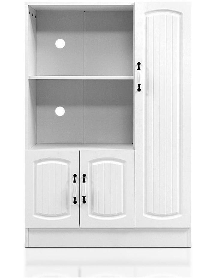 Buffet Sideboard Cabinet Storage Cupboard Doors White Kitchen Hallway image 1