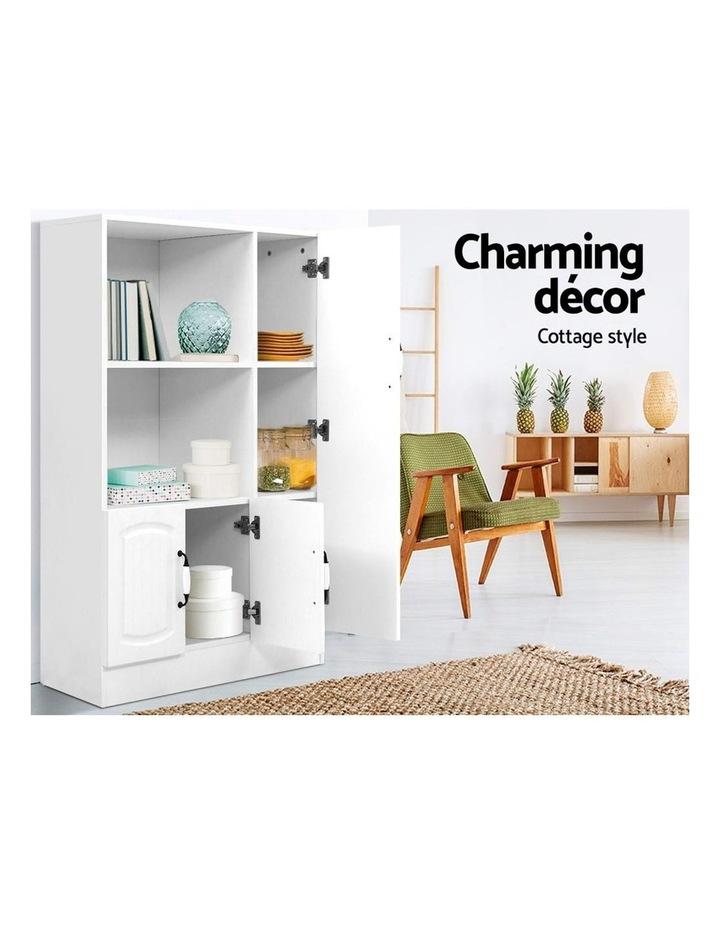 Buffet Sideboard Cabinet Storage Cupboard Doors White Kitchen Hallway image 5