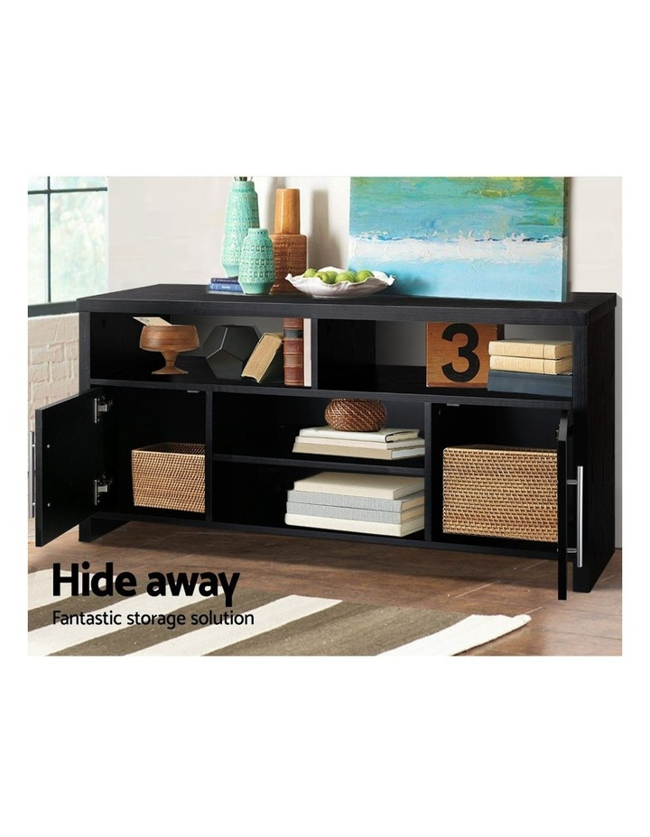 Entertainment Unit with Cabinets - Black image 5