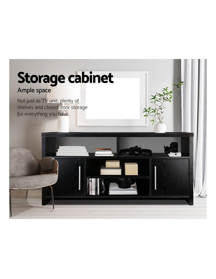 Entertainment Unit with Cabinets - Black image 6