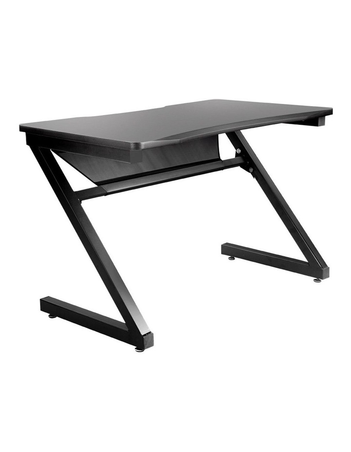 Gaming Desk Carbon Fiber Style Study Office Computer Laptop Racer Table image 1
